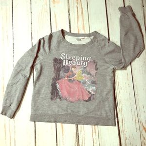 F21 Faded Disney Sleeping Beauty LongSleeve